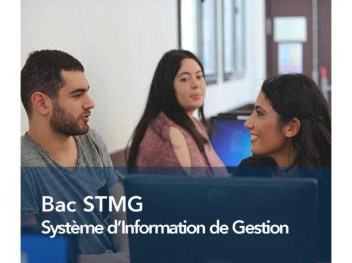 Bac STMG Système d'Information de Gestion