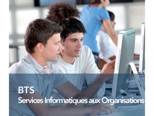 BTS Services Informatiques aux Organisations (option A ou B)