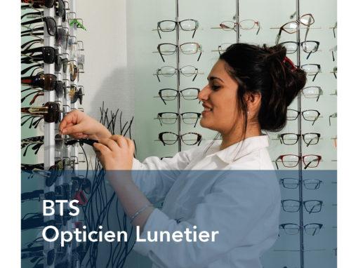 BTS Opticien Lunetier
