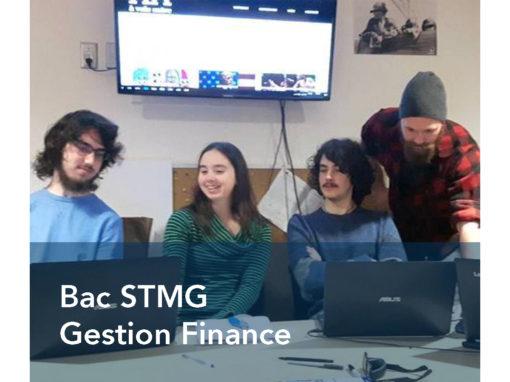Bac STMG Gestion Finance